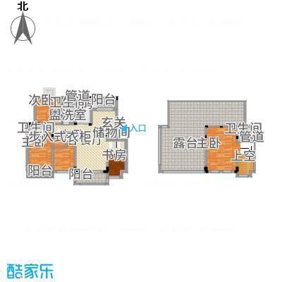 半山家园18.41㎡复式C户型