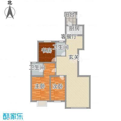 东湖丽景143.00㎡8户型