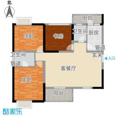 旌城一品313.62㎡Q户型3室2厅2卫1厨