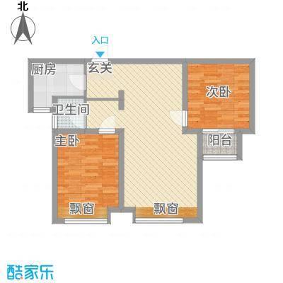 魅力熙郡85.00㎡户型