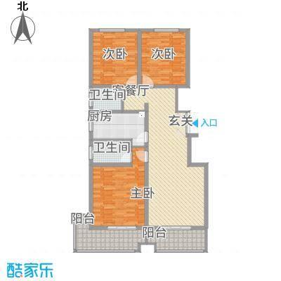 竹福佳苑A1―1户型