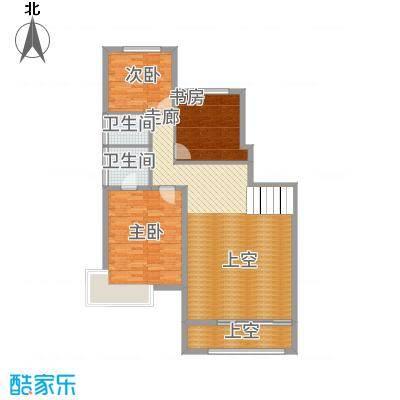 城发水城国际东营市复式平面图户型