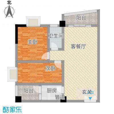 宇翠庭14.50㎡A3栋02、05户型3室1厅2卫1厨