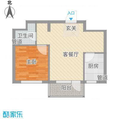 永安四季5.00㎡12#楼D户型