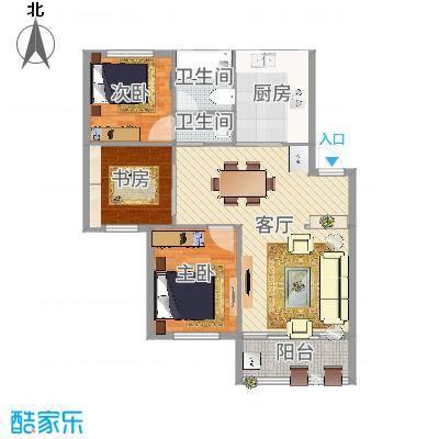 塘西新村94.00㎡