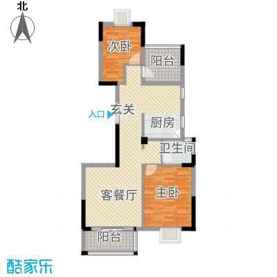 万和・新希望98.90㎡8#楼9#楼A1户型2室2厅1卫1厨
