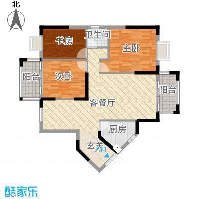 万和・新希望112.47㎡8#楼9#楼A5户型3室3厅2卫1厨