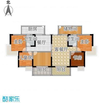 重庆_锦绣新城_83北欧风两房