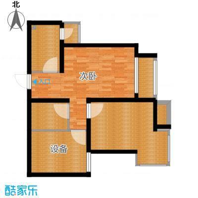 乐东馨园86.96㎡采阳居户型-副本