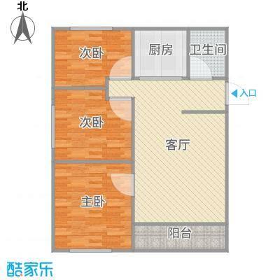 龙山山庄91平3室