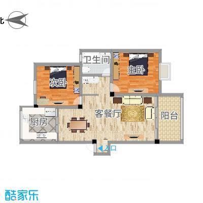 天一家园六期两室两厅