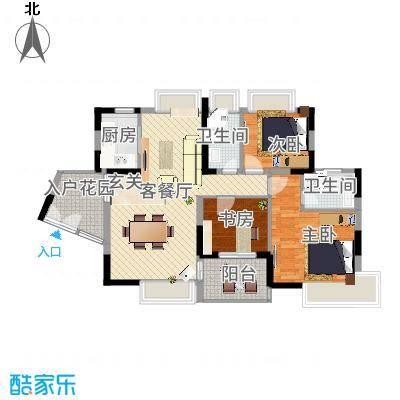 锦绣江南四期深圳锦绣江南四期户型图5户型10室-副本