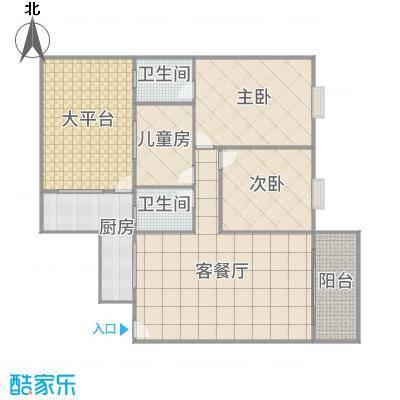 丽园盛景9栋-0105(105m²)3房2厅2卫