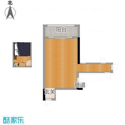 东田山畔华庭5.45㎡2栋03户型3室1厅1卫1厨-副本