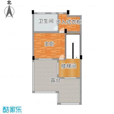 北辰半岛花园244.79㎡20#E1三层户型4室4厅4卫1厨