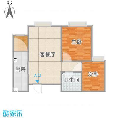 津南中央学府两室两厅一厨一卫87㎡-YSK012