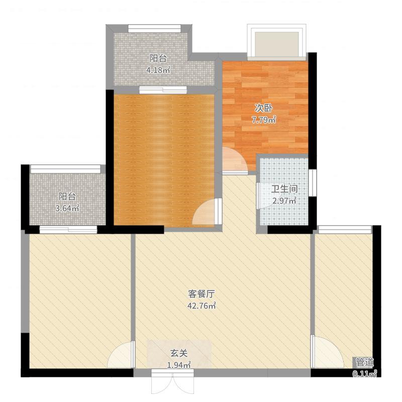 建业高尔夫房屋结构图