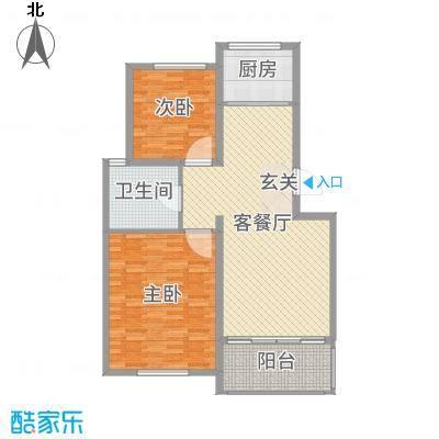华润金色阳光110.03㎡一期多层F1F户型3室3厅1卫