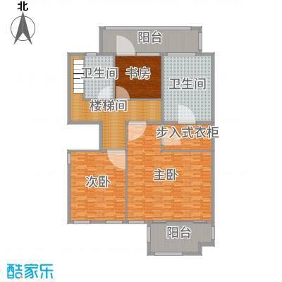 长发都市诸公226.00㎡一期B1-4/6/7/9/10/13号楼标准层B二层户型4室4厅3卫1厨