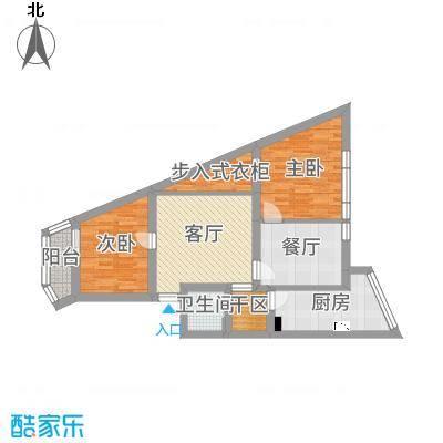 西潞园二里11号楼90㎡现代简约复式