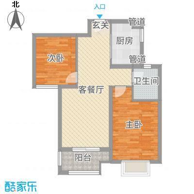 昊和沁园76.00㎡27#28#号楼小户型2室2厅1卫1厨