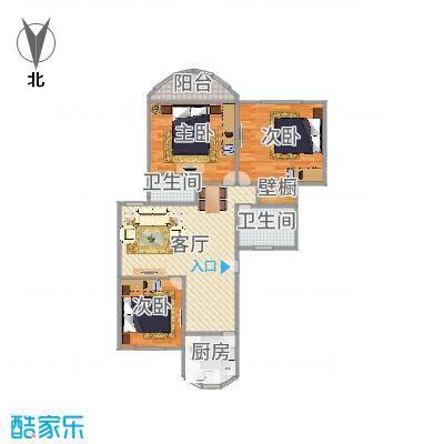 东方明珠大宁公寓户型图-副本