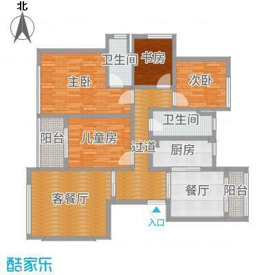 上海葛洲坝玉兰花园精装三房-G4-新中式3