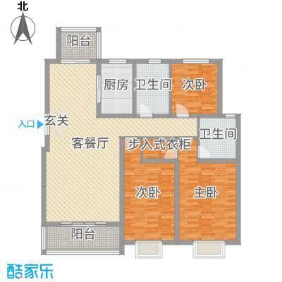 碧龙江畔144.76㎡F户型13室13厅1卫1厨