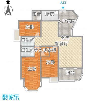 新世纪君汇半岛162.00㎡211/212/213户型3室3厅2卫1厨