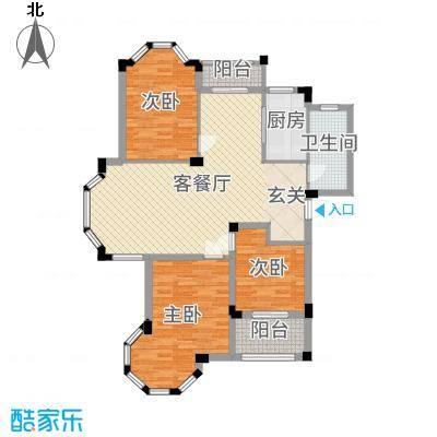 南天阳光113.29㎡多层5#楼N03户型3室3厅1卫1厨