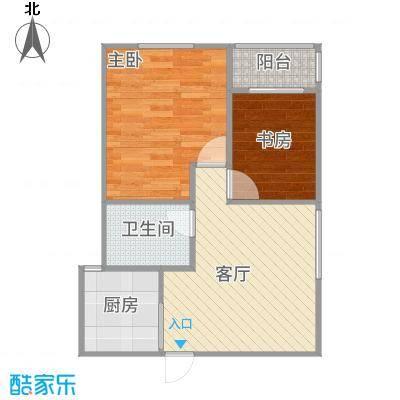 瑞星家园64平两室一厅-副本
