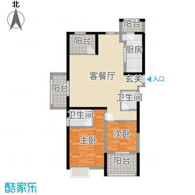 四季金辉123.00㎡D户型3室3厅2卫1厨