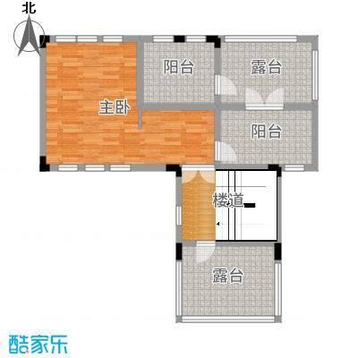 中冶南方韵湖首府189.00㎡25-47号楼F1三层户型1室1厅1卫1厨