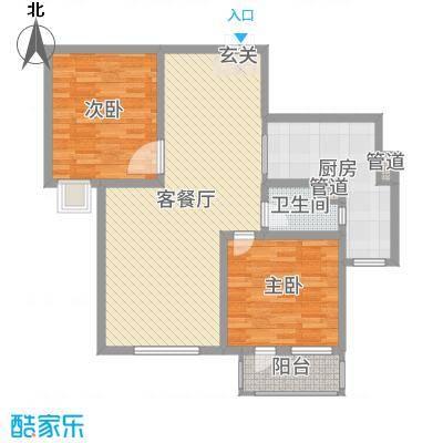 天马相城四期99.83㎡20#A2户型2室2厅1卫1厨
