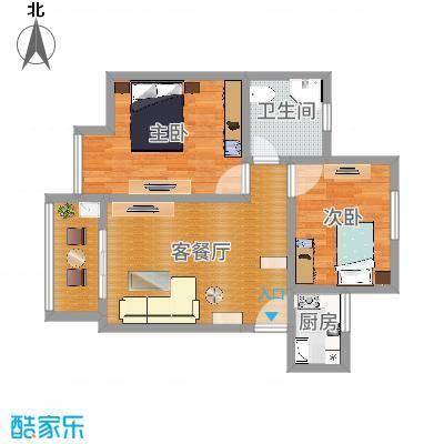 银康苑(两室一厅1)尺寸有问题;卡纳基现代