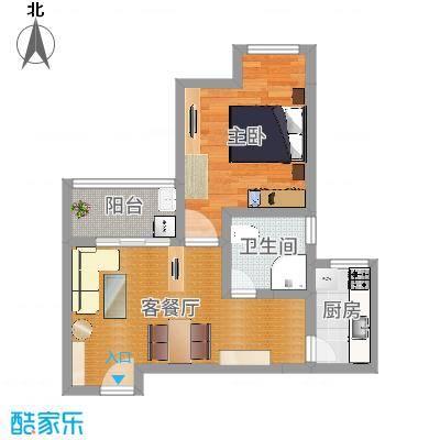 银康苑(一室一厅1)青木香居田园3D