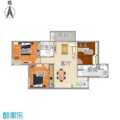 双紫小区三室一厅-副本