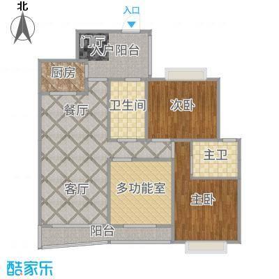 HC新城5#04户型