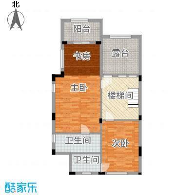 南峰华桂园269.00㎡双拼B1三层户型6室6厅5卫1厨