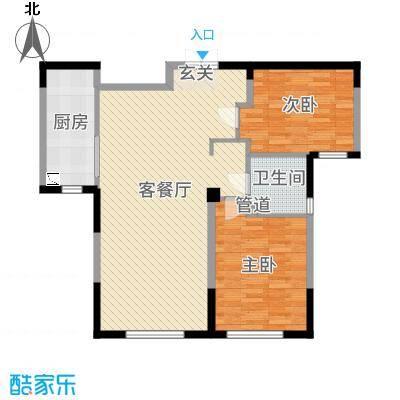万顺空港融和广场雅仕阁公寓3-6号楼2-11层户型-副本