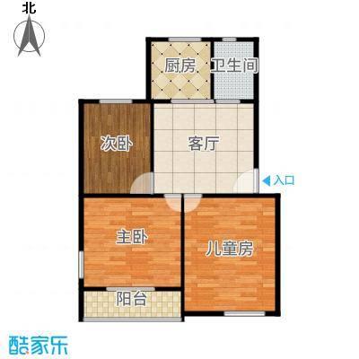 金杨四街坊-原始户型