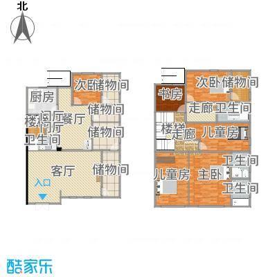 上海青浦徐泾明珠家园3层,1-2F自住v7