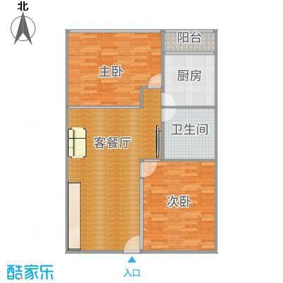阳光假日公寓72㎡做2房-副本