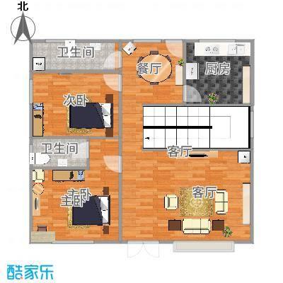 私家定制一楼户型图