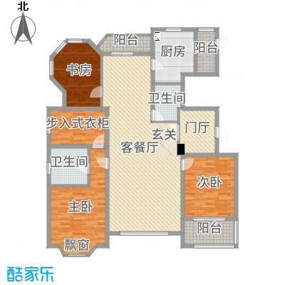 浦江公馆194.07㎡浦江公馆户型图户型图3室2厅2卫户型3室2厅2卫-副本