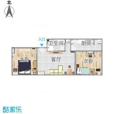 建欣苑一里5号楼1单元设计方案-全