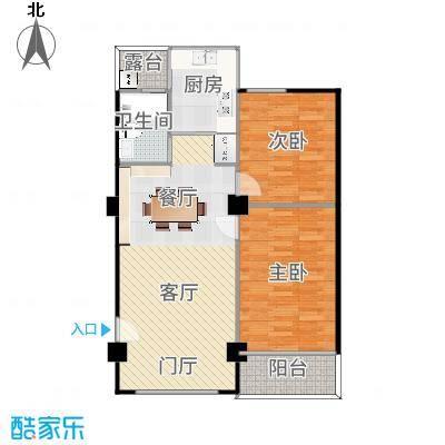 广东汕头金珠园2居室(更改户型方案2)
