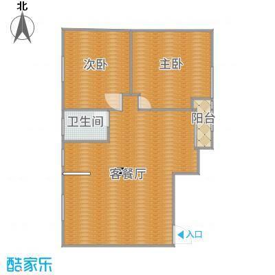 江南华庭96方8单元2室2厅