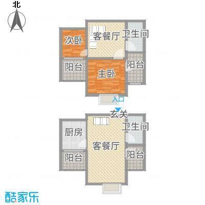 天元阳光苑114.00㎡C1户型3室3厅2卫1厨