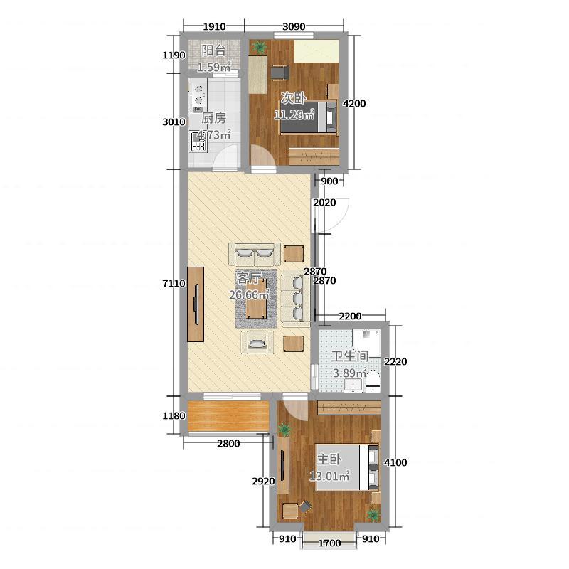 房屋平面图2